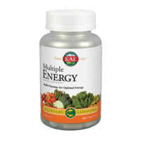 Multi-Vitamins for Optimal Energy, Dietary Supplement, 100 tablets, 4 Daily